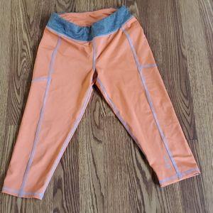 Lands end girls size 7/8 capri leggings